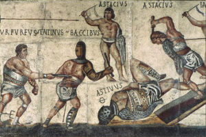 Ancient Roman Gladiators Fights