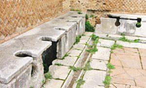 Ancient Roman Public Latrines and Rubbish Disposal