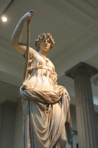 ancient Roman goddess Minerva
