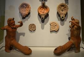 Ancient Roman Oil Lamps